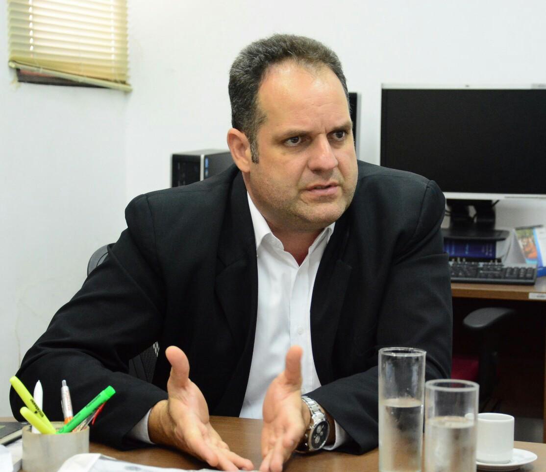 O representante do Movimento Luto por Bebedouro, Israel Lessa
