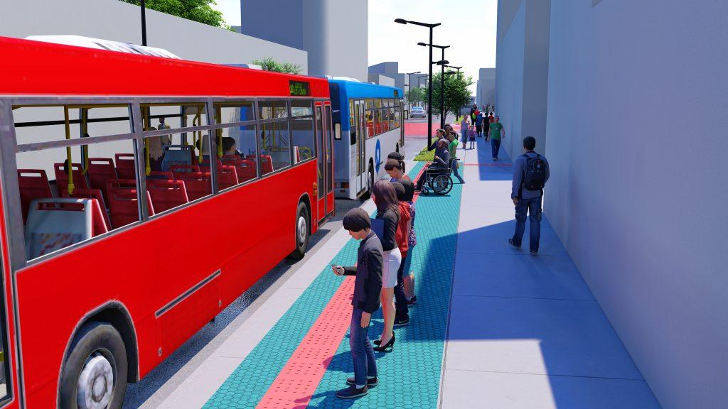 Projeto de Regularização de Calçadas e Acessibilidade do Centro (Foto: Ascom Sedet)