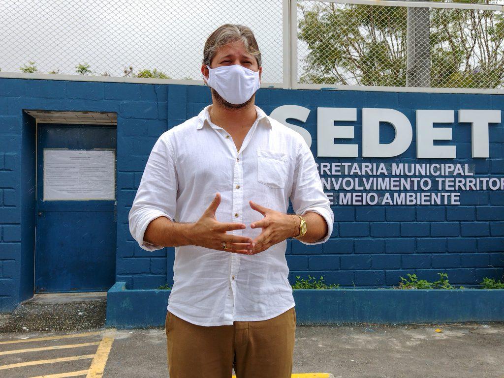 Secretário adjunto de Planejamento Urbano da Sedet, Tácio Rodrigues (Foto: Ascom Sedet)