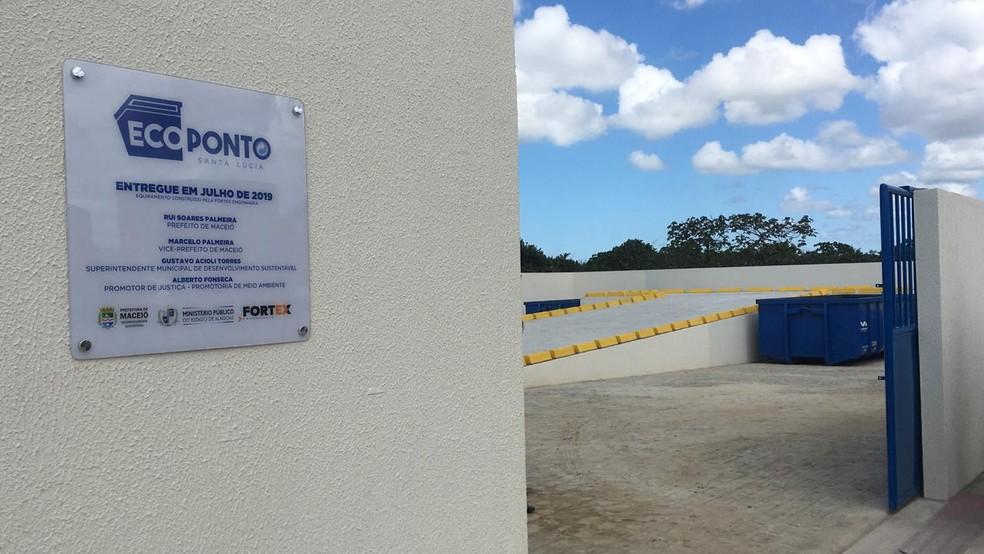 Ecopontos recebem resíduos da construção civil, restos de poda e móveis inservíveis. Foto: Ascom Sudes